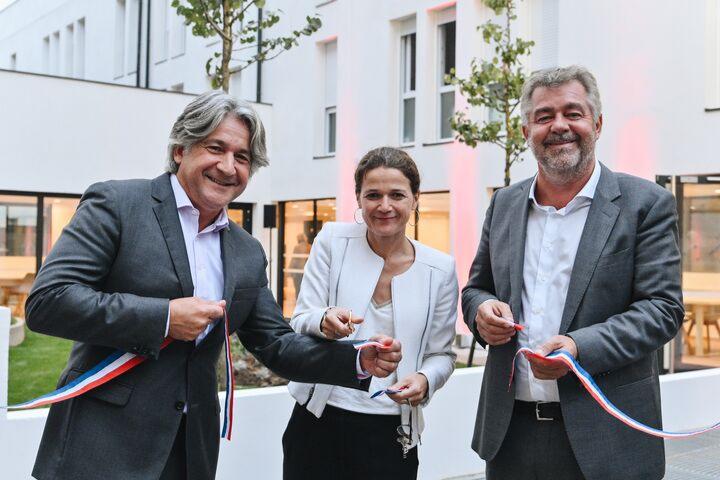Inauguration de la résidence de Dauphine à Saint-Ouen 2019